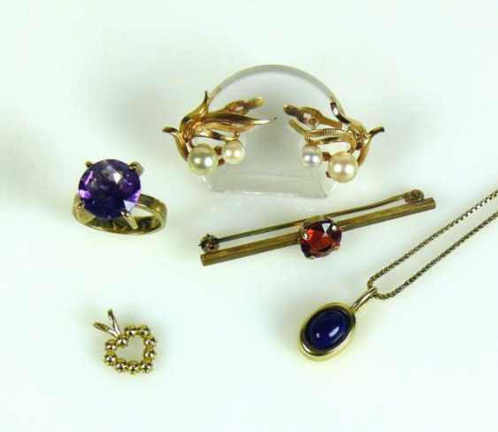 5 div. Jewelry parts - photo 1