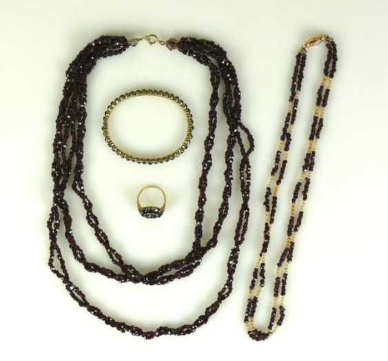 Garnet jewelry - photo 1
