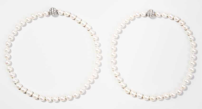 Master Brilliant Culture Pearl Necklaces - photo 1