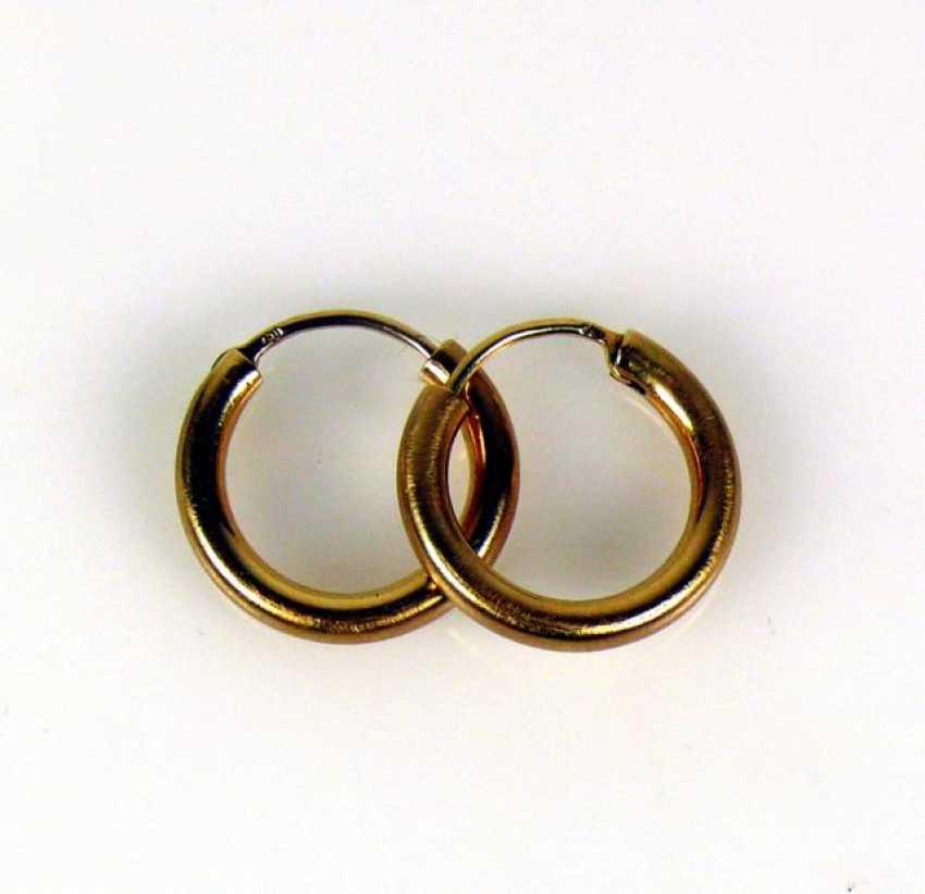 Pair Of Hoop Earrings - photo 1