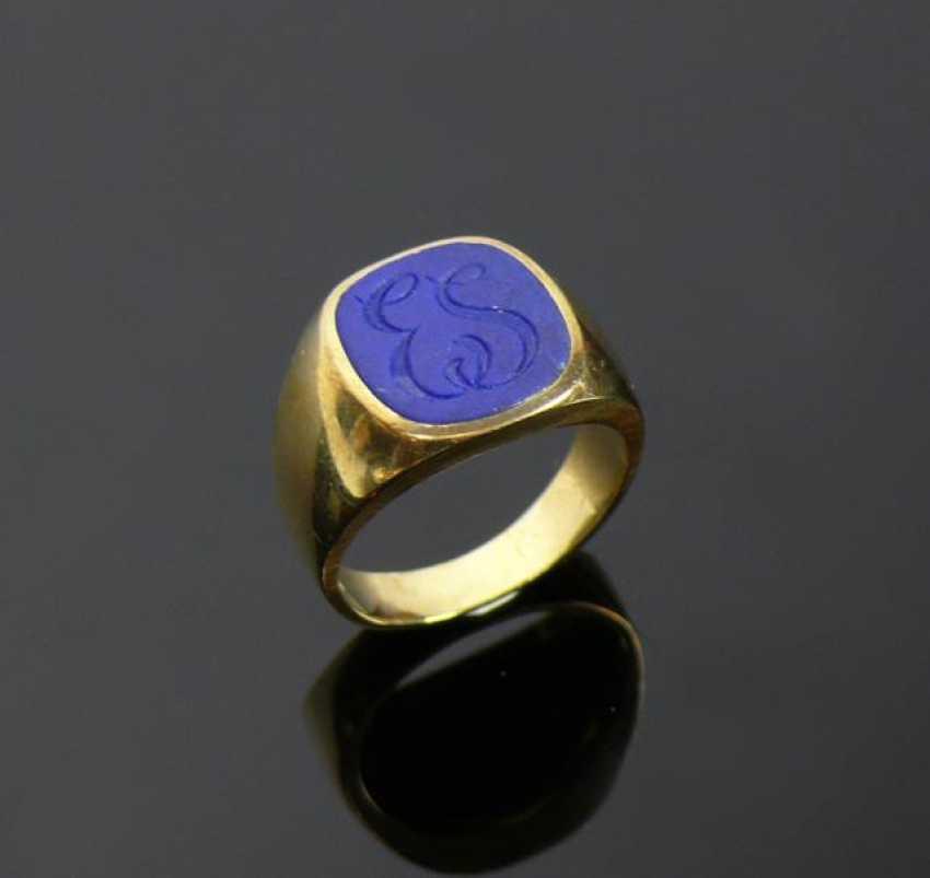 Men's ring - photo 1