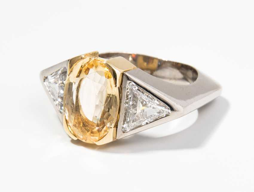 Topas-Diamant-Ring - photo 1