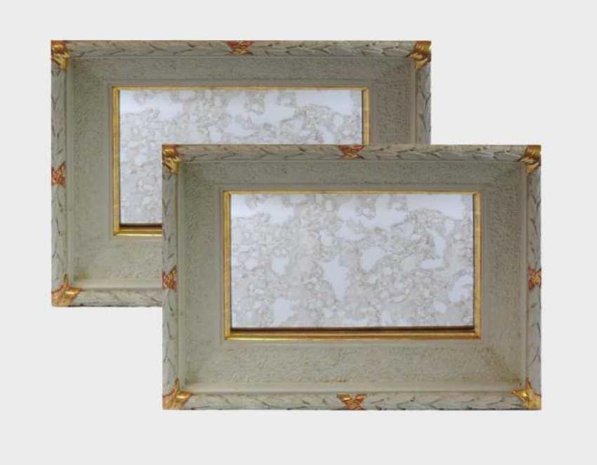 Pair Of Wall Mirrors - photo 1