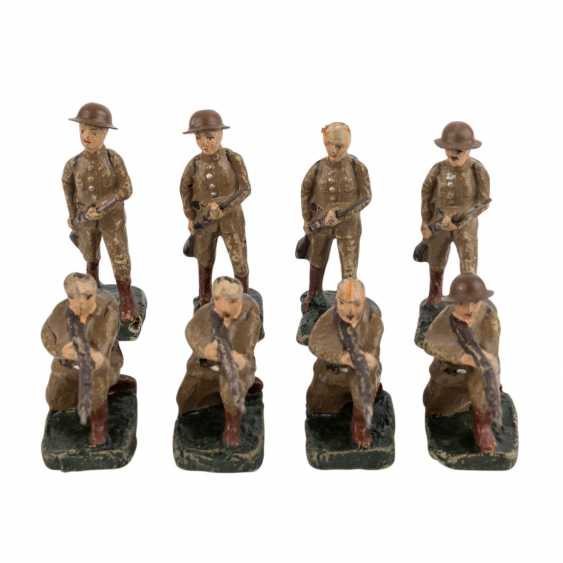 ELASTOLIN, among other things, collection of 30 soldiers, - photo 2