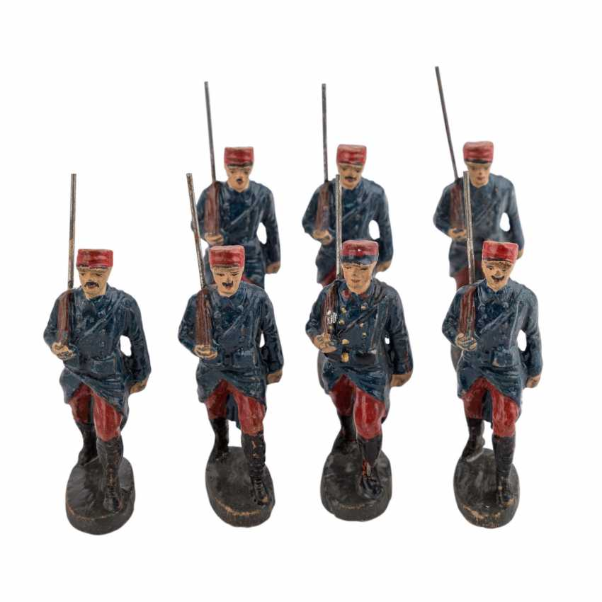 ELASTOLIN, among other things, collection of 30 soldiers, - photo 5
