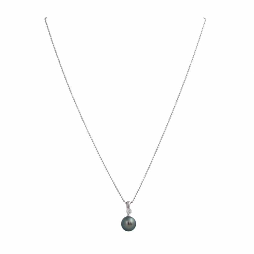 """Necklace with pendant """"Dancing Diamond"""" - photo 1"""