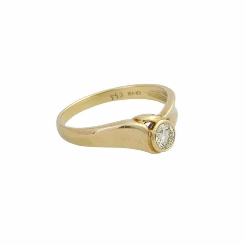 Ring mit 1 Brillant ca. 0,33 ct - photo 2