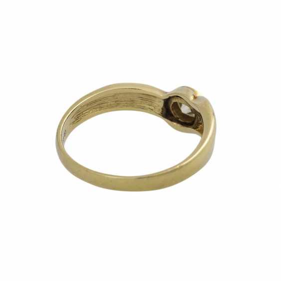 Ring mit 1 Brillant ca. 0,33 ct - photo 3