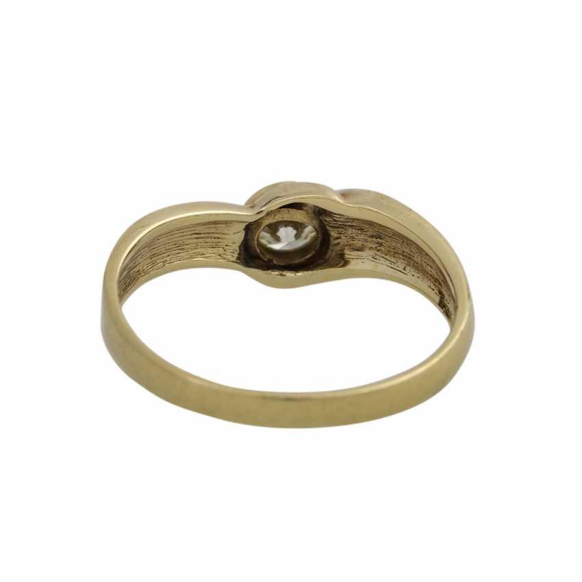 Ring mit 1 Brillant ca. 0,33 ct - photo 4