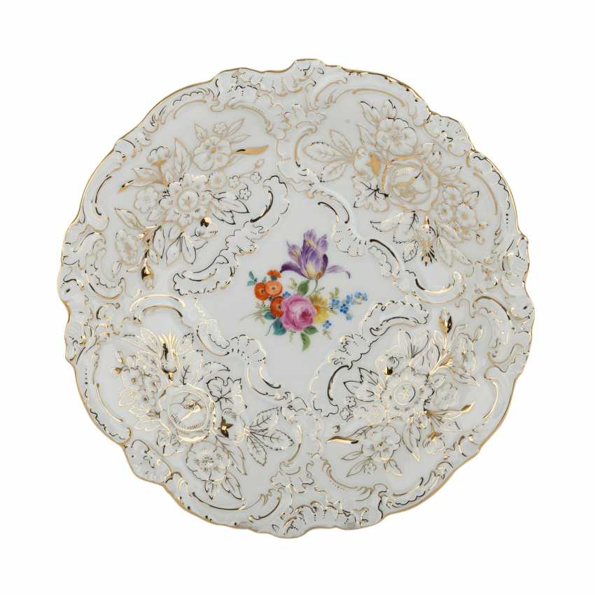 MEISSEN sumptuous dish, 20. Century. - photo 1