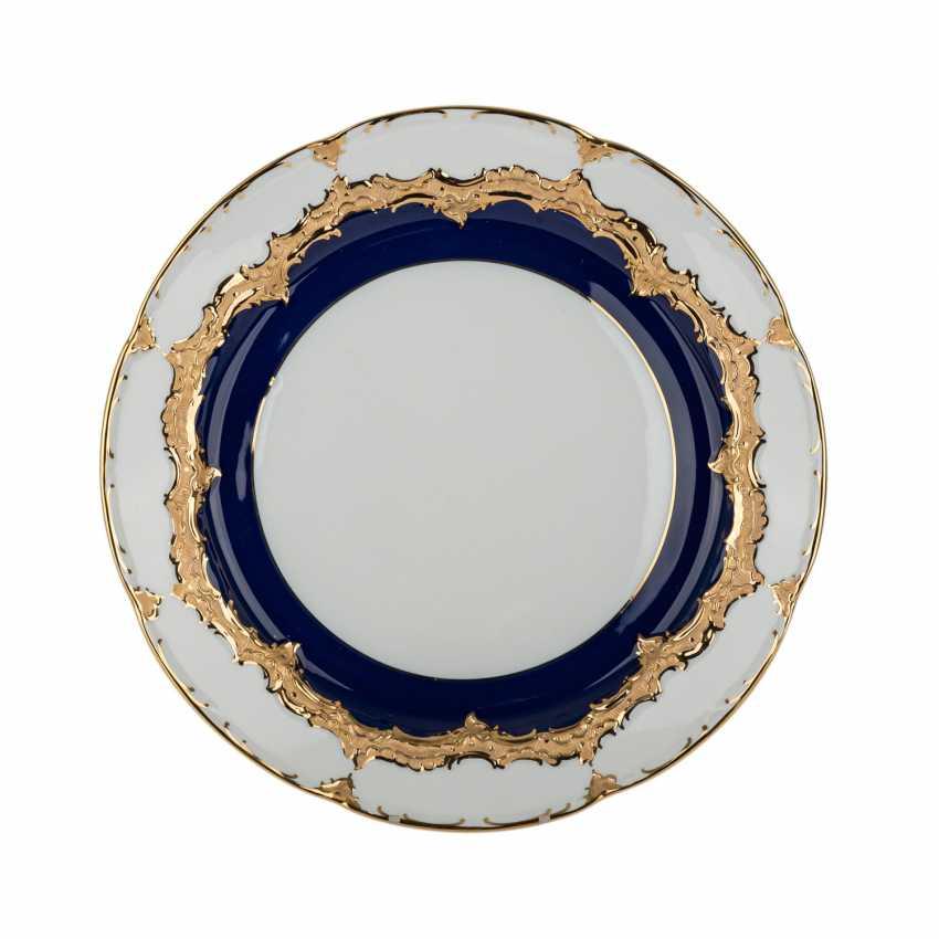 MEISSEN round plate 'B-Form', 20. Century. - photo 1