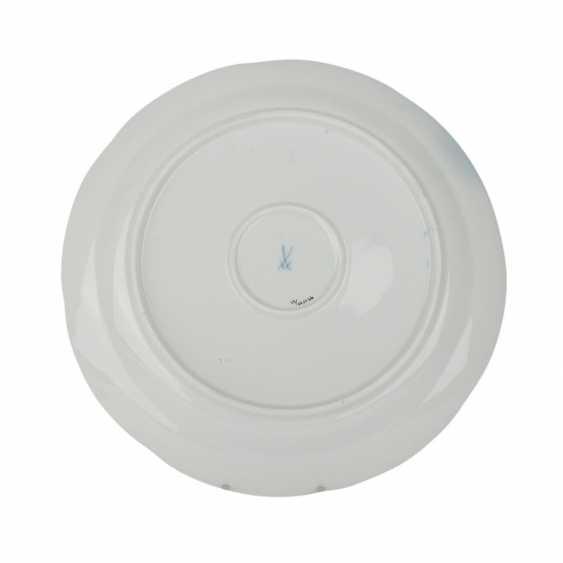MEISSEN round plate 'B-Form', 20. Century. - photo 2