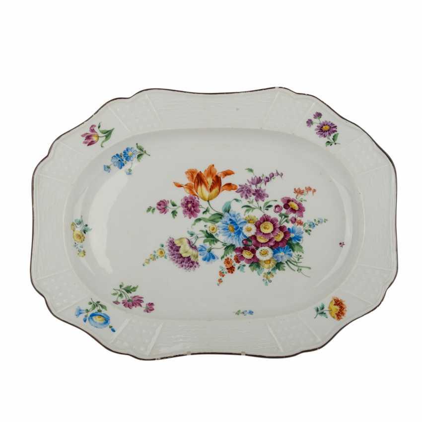 MEISSEN serving plate, 1.H. 19. Century - photo 1