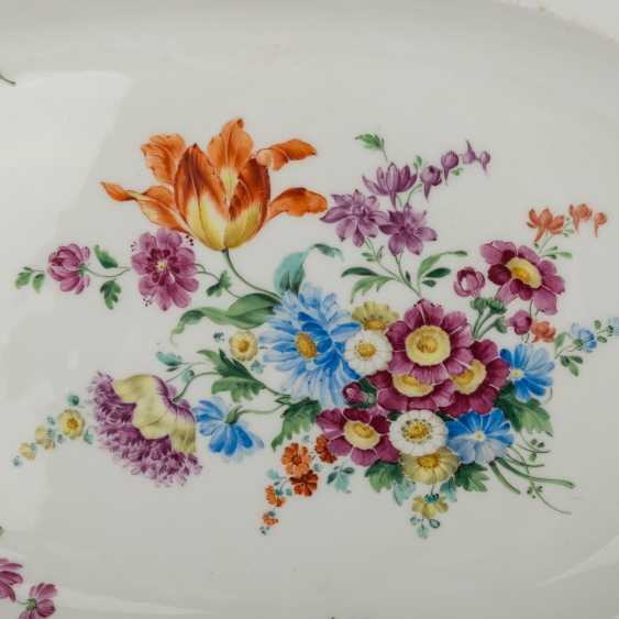MEISSEN serving plate, 1.H. 19. Century - photo 2
