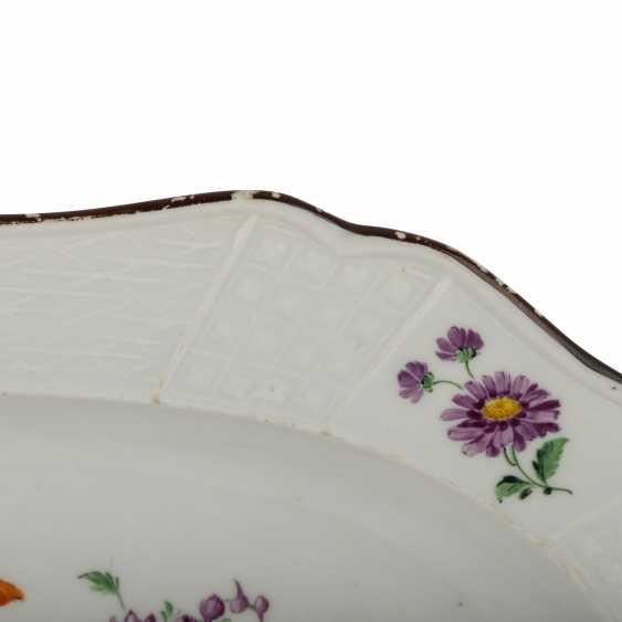 MEISSEN serving plate, 1.H. 19. Century - photo 3