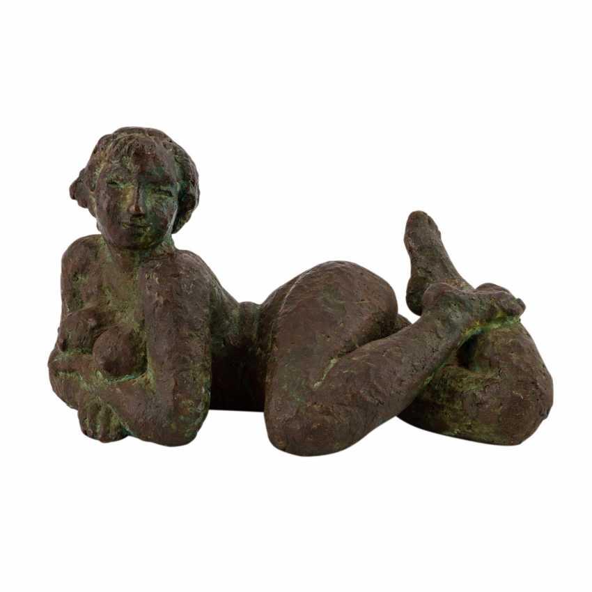 """FEHRLE, JAKOB WILHELM (Schwäbisch Gmünd, 1884-1974), """"Reclining female Nude"""", - photo 1"""