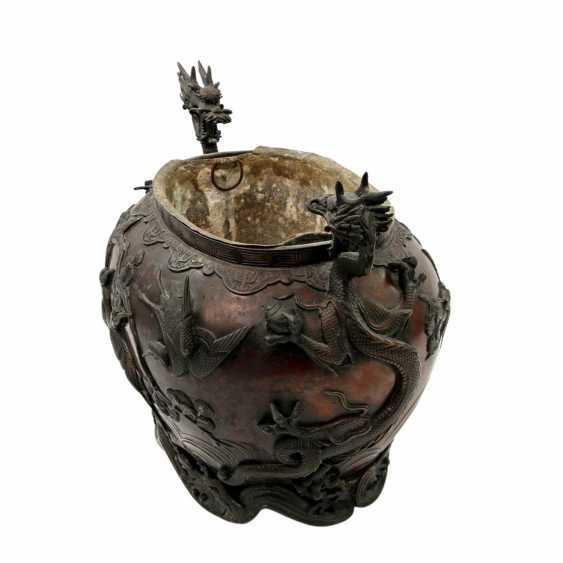 Bucket made of Bronze. CHINA, 19. Century - photo 5