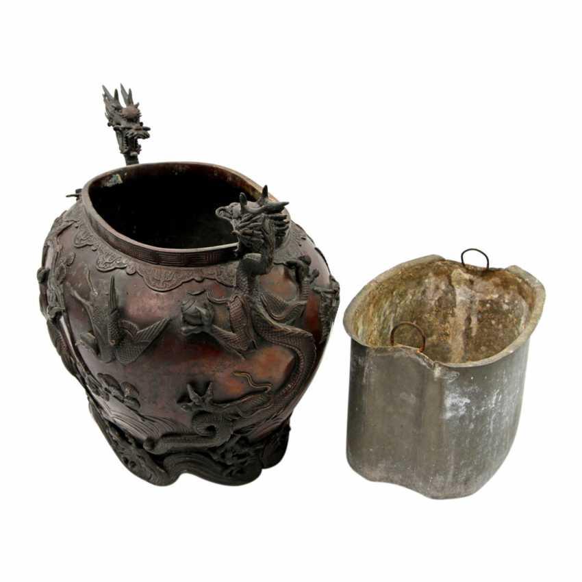 Bucket made of Bronze. CHINA, 19. Century - photo 6