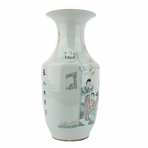 Vase. CHINA, 20. Century. - photo 2
