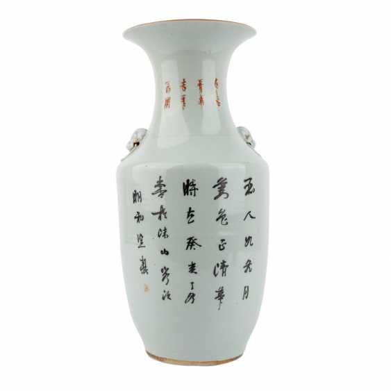 Vase. CHINA, 20. Century. - photo 3