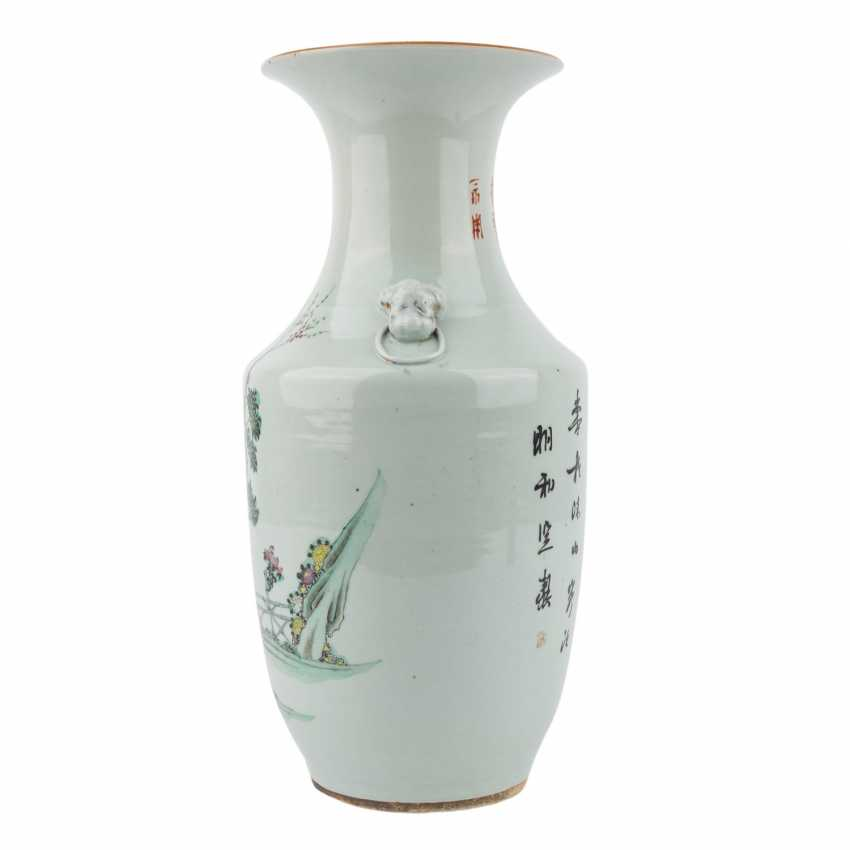 Vase. CHINA, 20. Century. - photo 4