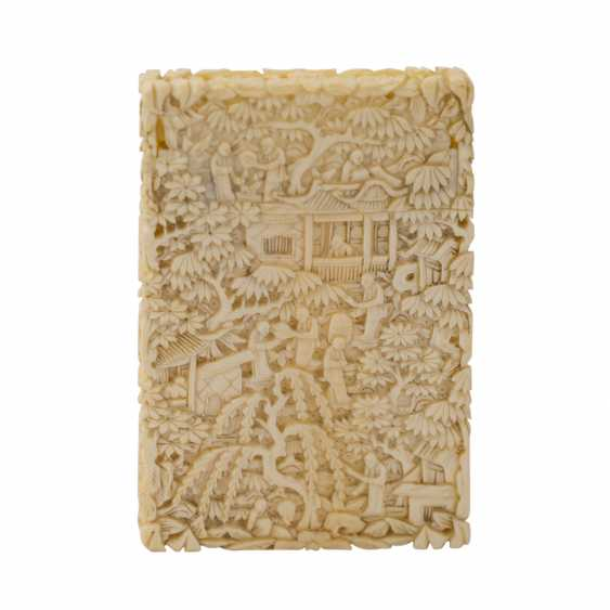 Business card case made of ivory, CHINA, C. 1900. - photo 1