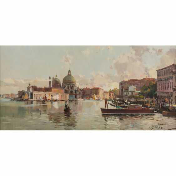 "NEIPPERG (painter 20. Century), ""Venice"" - photo 1"