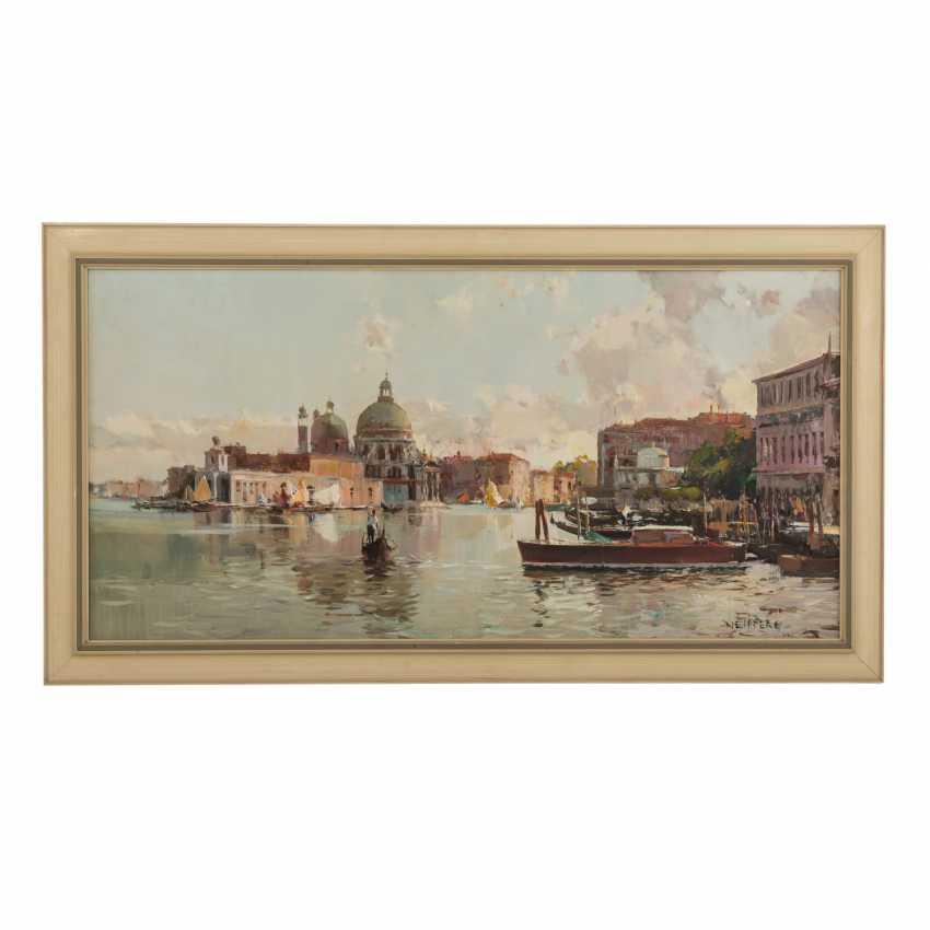 "NEIPPERG (painter 20. Century), ""Venice"" - photo 2"