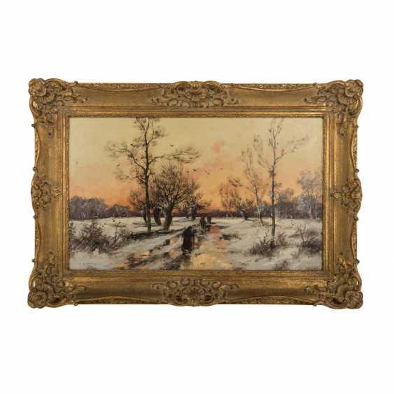 """KAUFMANN, KARL, attrib., """"Winter landscape"""" - photo 2"""