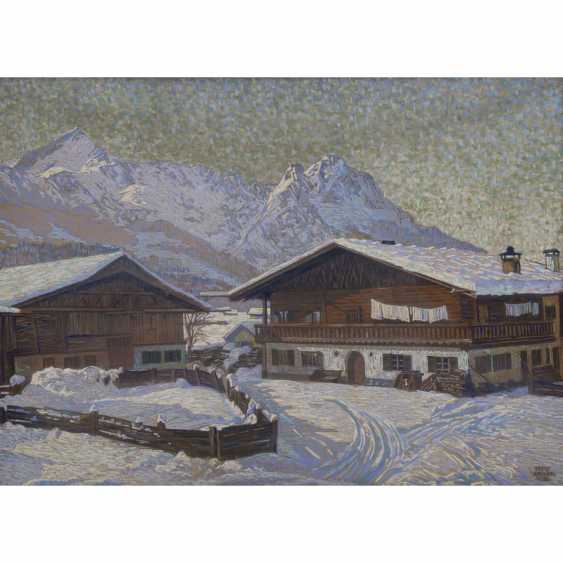 "ELEGANT, FRITZ (1899-?), ""The winter Alps landscape"" - photo 1"