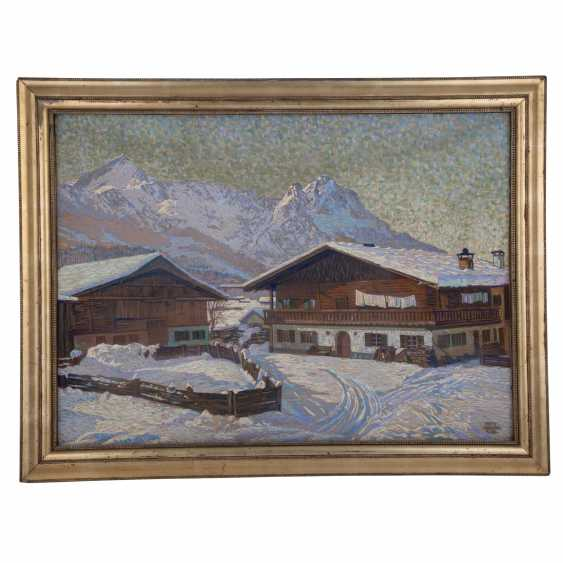 "ELEGANT, FRITZ (1899-?), ""The winter Alps landscape"" - photo 2"