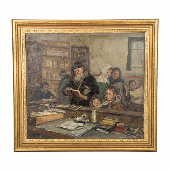 "HARTCHENKO, BORIS (also Kharchenko, 1927-1985, russ. Artist), ""In the village library"", - photo 2"
