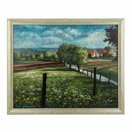 """GUCKENBIEHL, PETER (geb. 1951), """"flowering meadows at gagern mountain"""", - photo 2"""