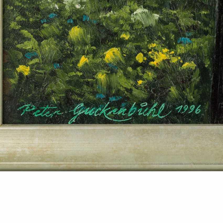 """GUCKENBIEHL, PETER (geb. 1951), """"flowering meadows at gagern mountain"""", - photo 3"""