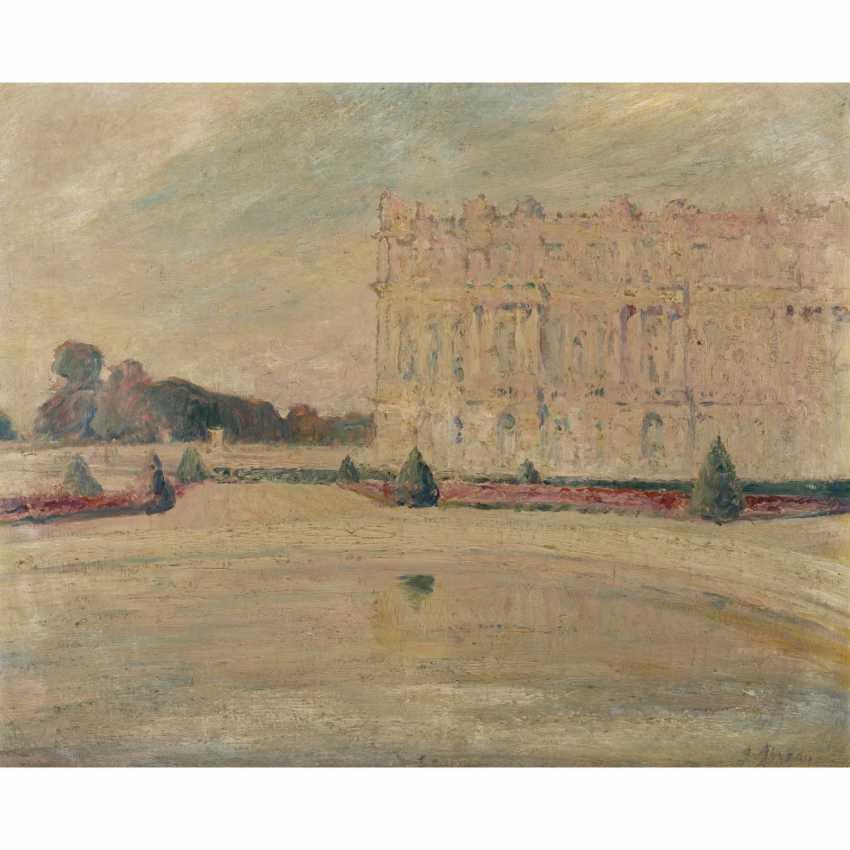 "SEVEAU, GEORGES (French artist, 19th century./20. Century), ""Park of Versailles"", - photo 1"