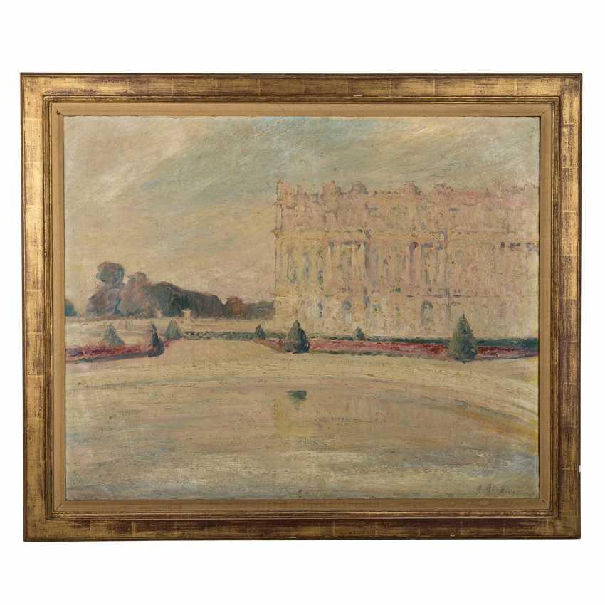 "SEVEAU, GEORGES (French artist, 19th century./20. Century), ""Park of Versailles"", - photo 2"