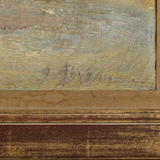 "SEVEAU, GEORGES (French artist, 19th century./20. Century), ""Park of Versailles"", - photo 3"