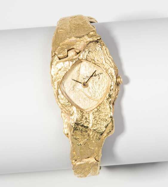 Gold-Ladies Wrist Watch - photo 1