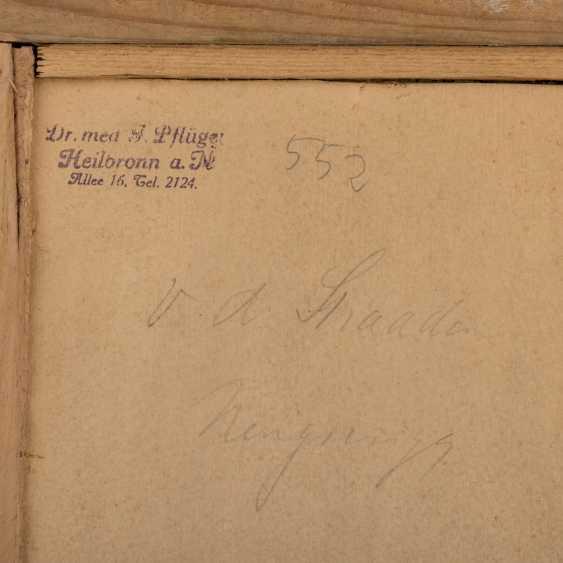 "Monogram mist, 17. Century, ""Mr with a green fur cap on the window"", - photo 5"
