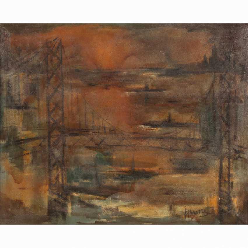"""PRIKING, FRANZ (1929-1979), """"San Francisco, the Golden Gate Bridge"""", - photo 1"""