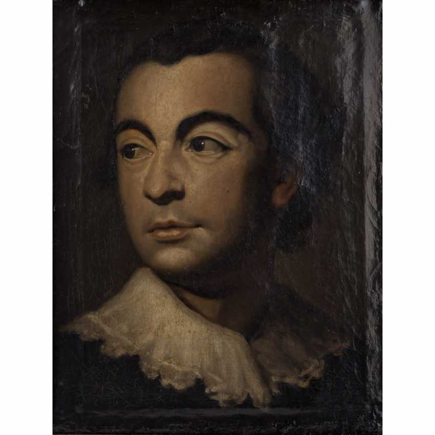 """Of the old MASTERS """"Portrait of a young man"""" - photo 1"""