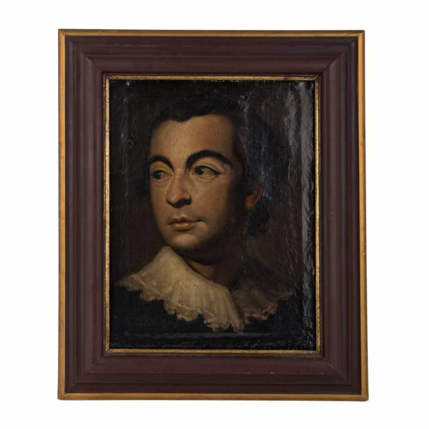 """Of the old MASTERS """"Portrait of a young man"""" - photo 2"""