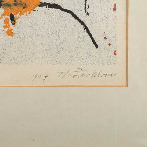 """WERNER, THEODOR (1886-1969) """"Without title"""" - photo 4"""