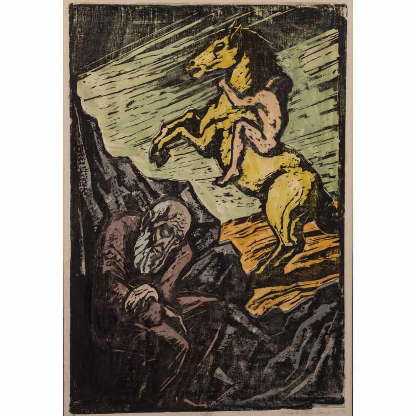 "STEINHARDT, JAKOB (1887-1968), ""age and youth"", - photo 1"