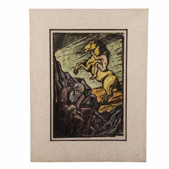 "STEINHARDT, JAKOB (1887-1968), ""age and youth"", - photo 2"