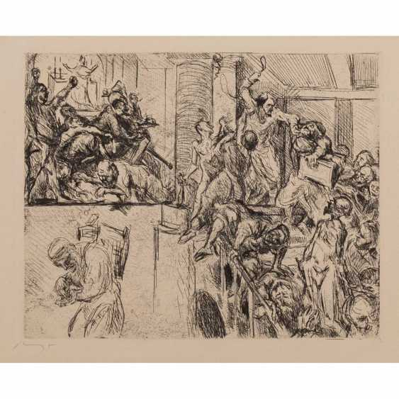 """SLEVOGT, MAX (1868-1932), """"Christ and the traders"""", 1923, - photo 1"""