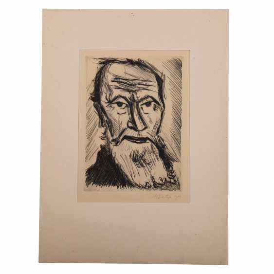 "PECHSTEIN, MAX (1881-1955), and ""fishing head"", 1922, - photo 2"