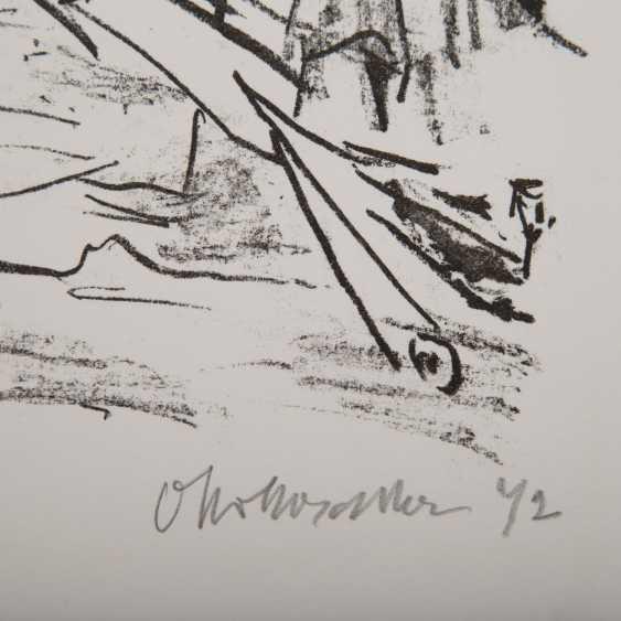 "KOKOSCHKA, OSKAR (1886-1980), ""Tower bridge"", - photo 2"