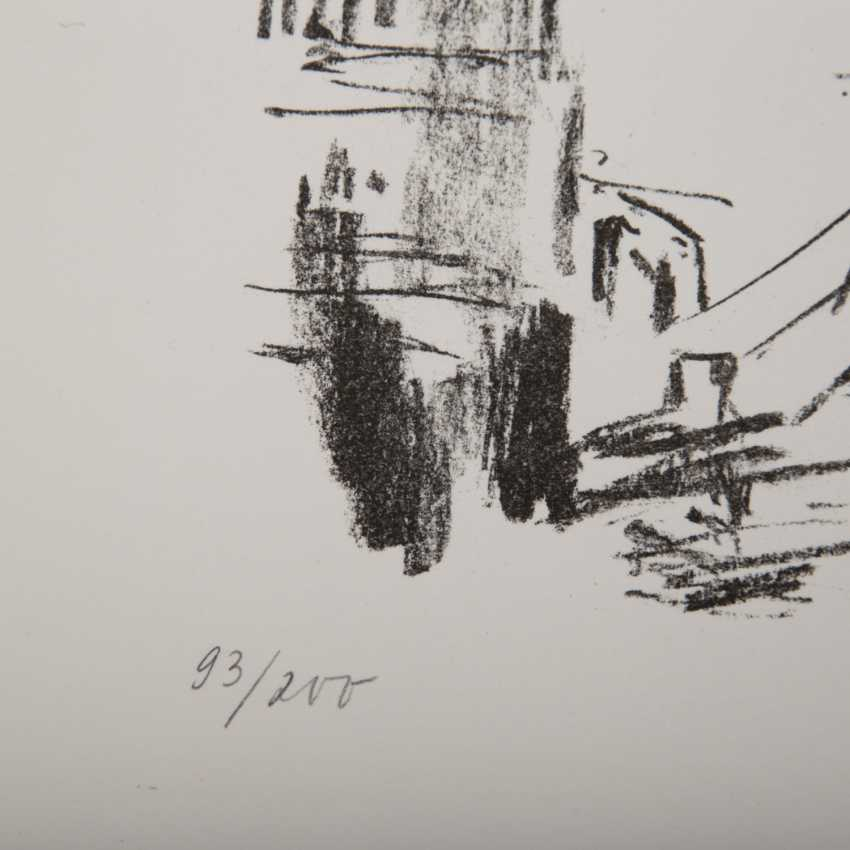 "KOKOSCHKA, OSKAR (1886-1980), ""Tower bridge"", - photo 3"