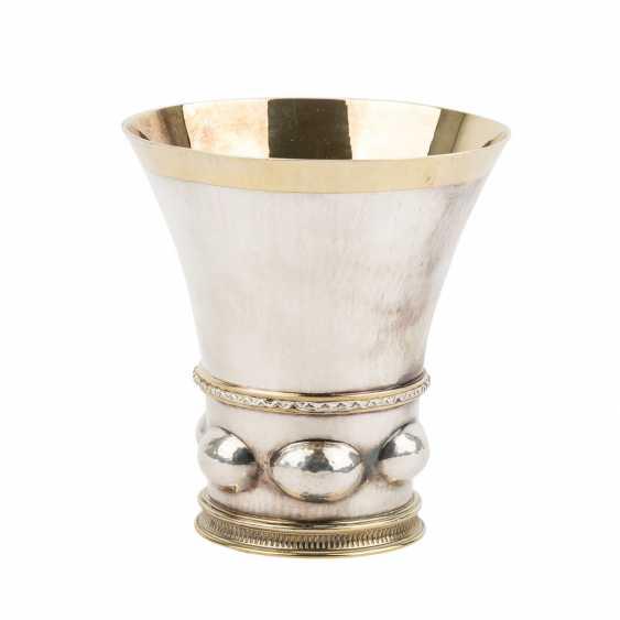 BOSSARD silver Cup, Switzerland, 20. Century. - photo 3